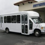 Ford E-450 16 passenger charter shuttle coach bus for sale - Gas 1