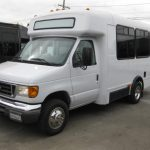 Ford E350 15 passenger charter shuttle coach bus for sale - Gas 2