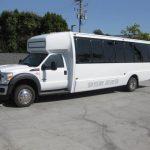Ford F550 32 passenger charter shuttle coach bus for sale - Diesel 2