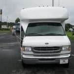 Ford E-450 16 passenger charter shuttle coach bus for sale - Gas 2