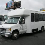 Ford E-450 16 passenger charter shuttle coach bus for sale - Gas 3
