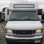 Ford E350 15 passenger charter shuttle coach bus for sale - Gas 5
