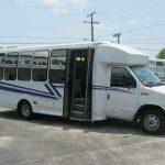 Ford E450 23 passenger charter shuttle coach bus for sale - Diesel 1