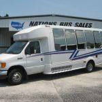 Ford E450 23 passenger charter shuttle coach bus for sale - Diesel 2