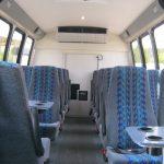 Ford E450 23 passenger charter shuttle coach bus for sale - Diesel 4