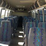 Ford F550 32 passenger charter shuttle coach bus for sale - Diesel 6