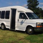 Chevy 3500 13 passenger charter shuttle coach bus for sale - Gas 1