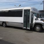 Chevy C5500 29 passenger charter shuttle coach bus for sale - Diesel 1