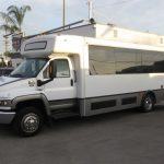Chevy C5500 29 passenger charter shuttle coach bus for sale - Diesel 3