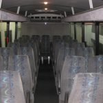 Chevy C5500 29 passenger charter shuttle coach bus for sale - Diesel 4