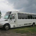 International 3200 36 passenger charter shuttle coach bus for sale - Diesel 5