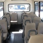 Ford E350 15 passenger charter shuttle coach bus for sale - Gas 7