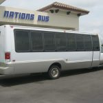 Ford F550 31 passenger charter shuttle coach bus for sale - Diesel 3