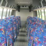 Ford F550 31 passenger charter shuttle coach bus for sale - Diesel 7