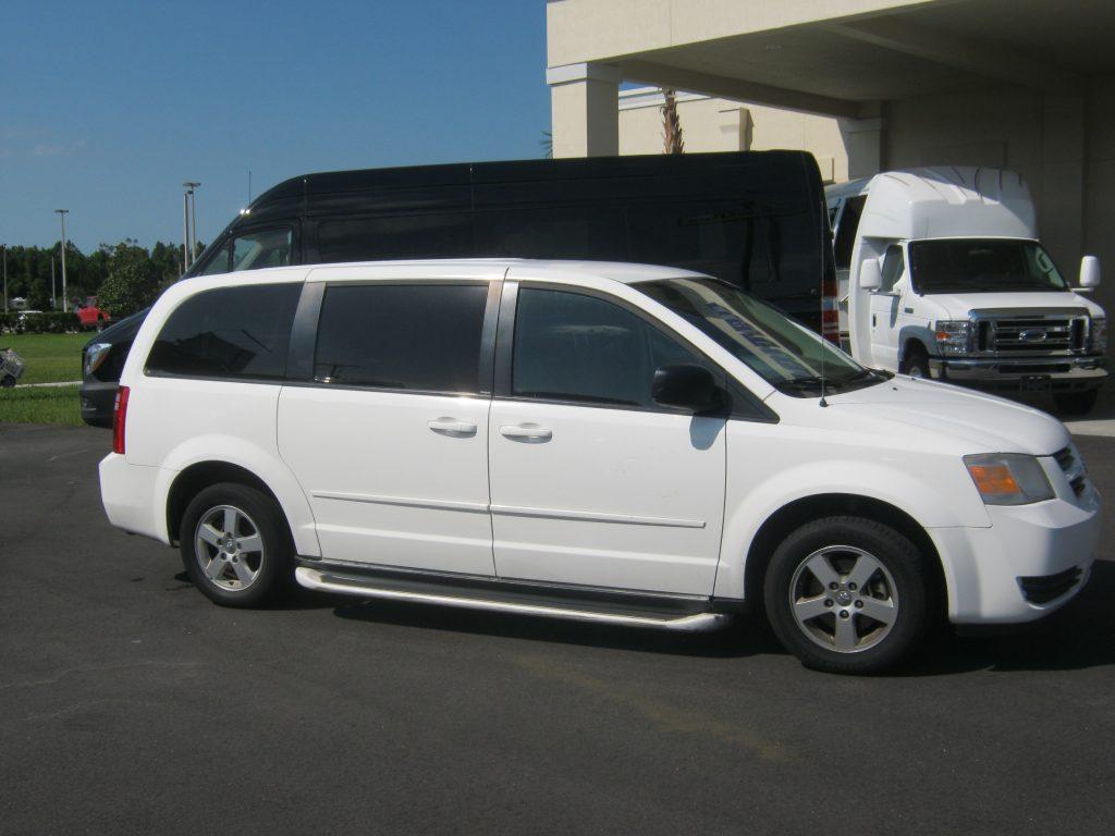 Dodge 6 passenger charter shuttle coach bus for sale - Gas