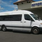 Freightliner 2500 11 passenger charter shuttle coach bus for sale - Diesel 1