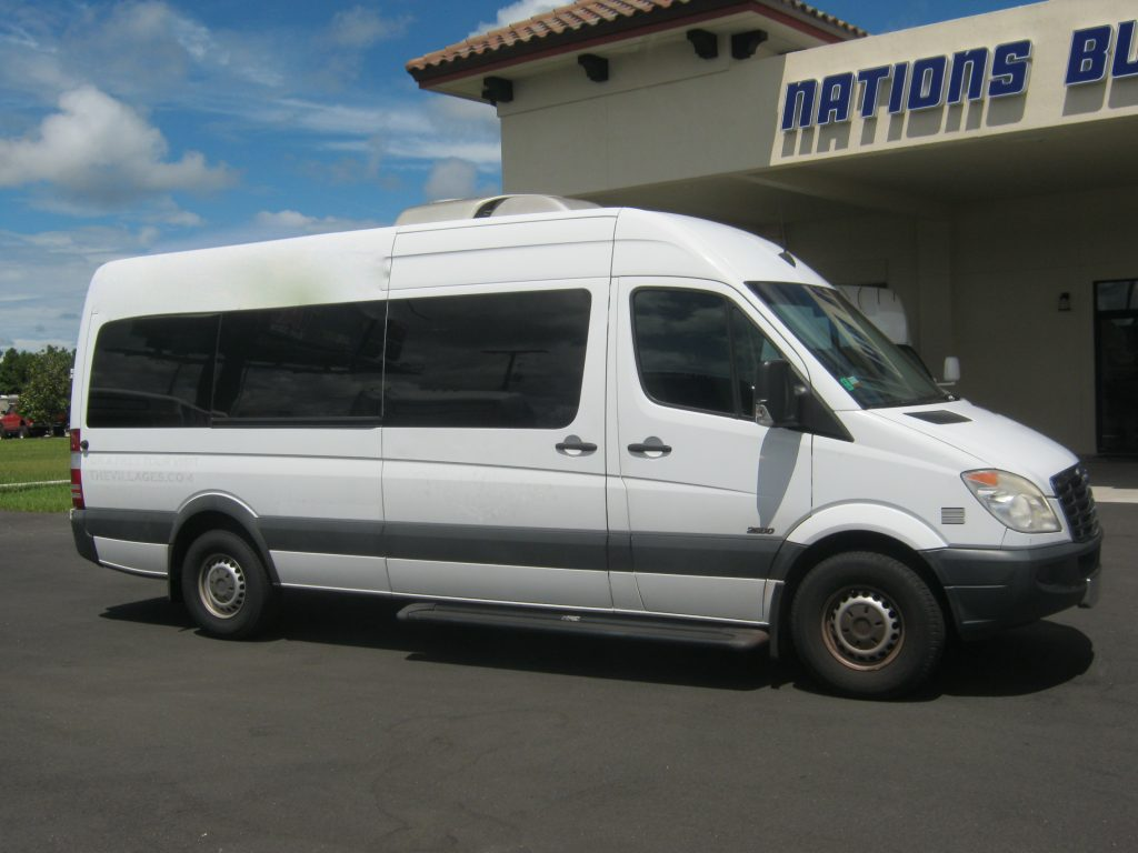 Freightliner 2500 11 passenger charter shuttle coach bus for sale - Diesel