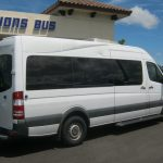 Freightliner 2500 11 passenger charter shuttle coach bus for sale - Diesel 3