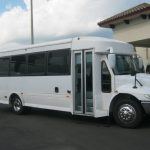 International 3200 25 passenger charter shuttle coach bus for sale - Diesel 1