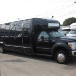 Ford F550 32 passenger charter shuttle coach bus for sale - Gas 1