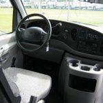 Ford E-450 16 passenger charter shuttle coach bus for sale - Gas 8