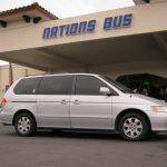 Honda 6 passenger charter shuttle coach bus for sale - Gas 1