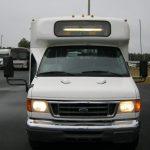 Ford E450 14 passenger charter shuttle coach bus for sale - Diesel 2
