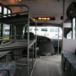 Ford E450 14 passenger charter shuttle coach bus for sale - Diesel 6