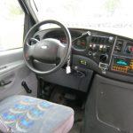 Ford E450 14 passenger charter shuttle coach bus for sale - Diesel 7