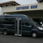 Ford Transit 8 passenger charter shuttle coach bus for sale - Diesel 1