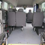 Ford Transit 8 passenger charter shuttle coach bus for sale - Diesel 7