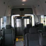 Ford Transit 8 passenger charter shuttle coach bus for sale - Diesel 8