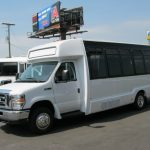 Ford E450 17 passenger charter shuttle coach bus for sale - Gas 3