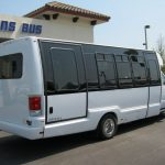 Ford E450 17 passenger charter shuttle coach bus for sale - Gas 4
