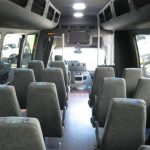 Ford E450 25 passenger charter shuttle coach bus for sale - Gas 6