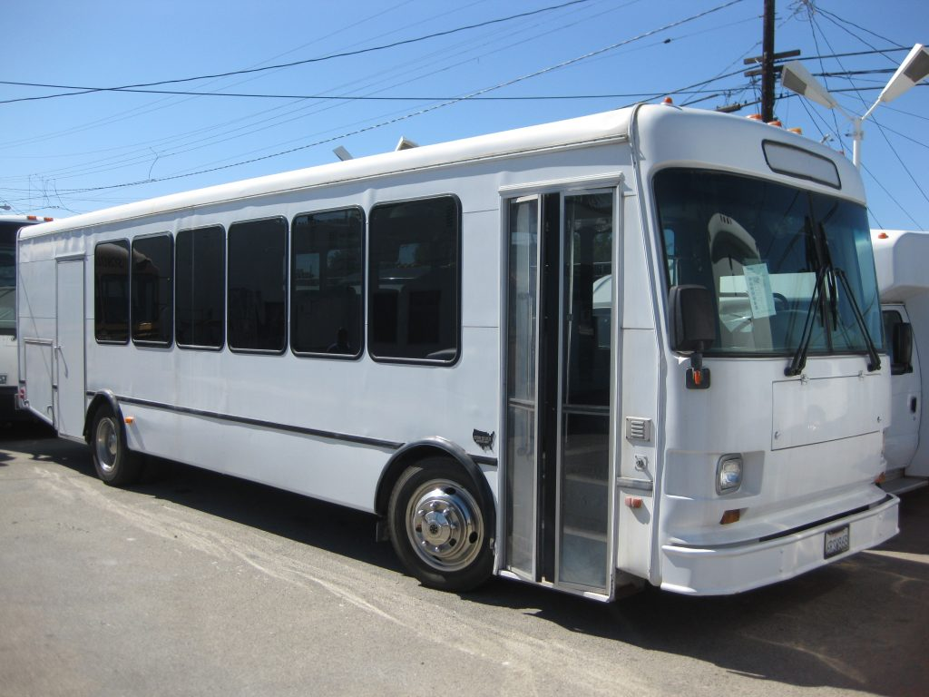 Spartan BC-2242 20 passenger charter shuttle coach bus for sale - Diesel