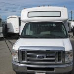 Ford E350 15 passenger charter shuttle coach bus for sale - Gas 4