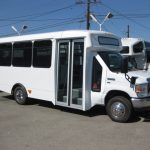 Ford E350 14 passenger charter shuttle coach bus for sale - Gas 2
