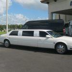 Cadillac Deville 7 passenger charter shuttle coach bus for sale - Gas 1