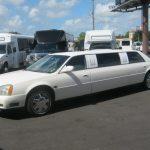 Cadillac Deville 7 passenger charter shuttle coach bus for sale - Gas 5