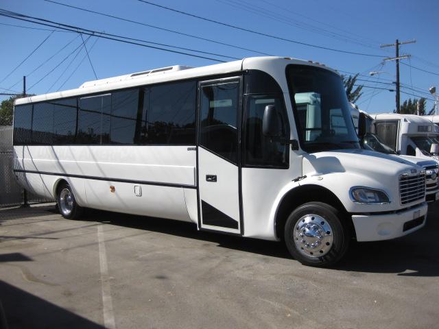 Freightliner S2 31 passenger charter shuttle coach bus for sale - Diesel