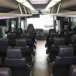 Freightliner S2 31 passenger charter shuttle coach bus for sale - Diesel 6