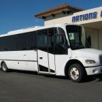 Freightliner 30 passenger charter shuttle coach bus for sale - Diesel 1