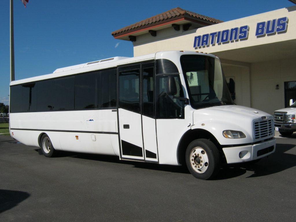 Freightliner 30 passenger charter shuttle coach bus for sale - Diesel