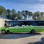 Freightliner 31 passenger charter shuttle coach bus for sale - Diesel 4