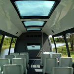 Ford E450 25 passenger charter shuttle coach bus for sale - Gas 5