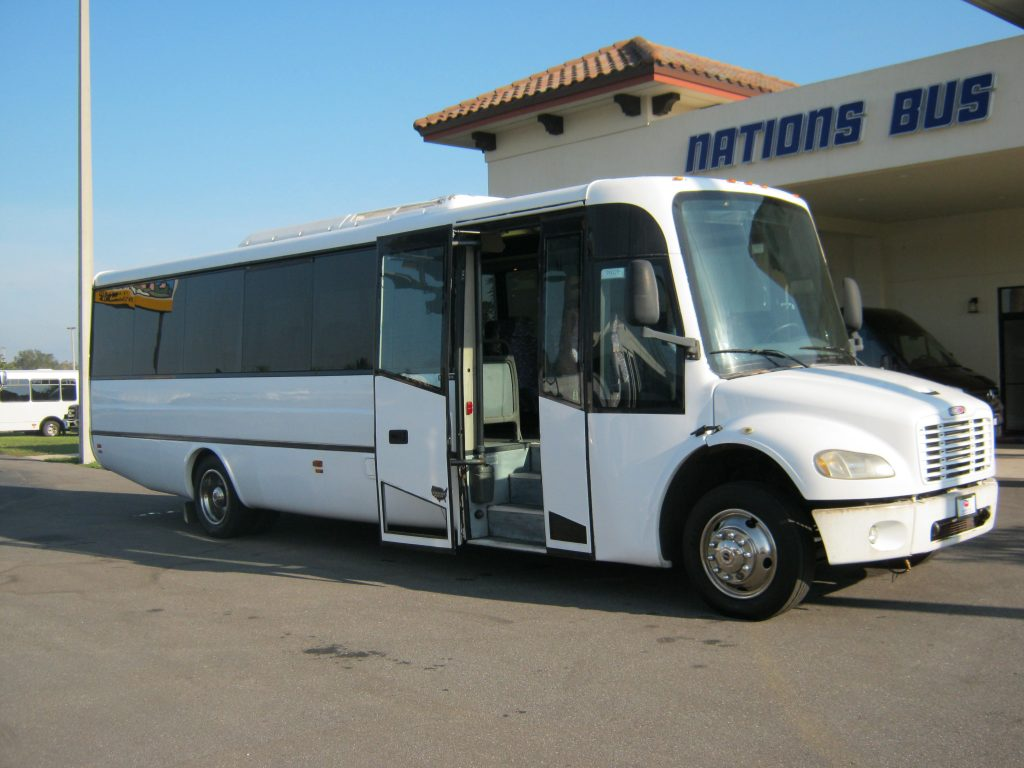 Freightliner 31 passenger charter shuttle coach bus for sale - Diesel