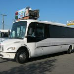 Freightliner 31 passenger charter shuttle coach bus for sale - Diesel 3