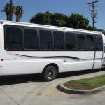 Ford F550 32 passenger charter shuttle coach bus for sale - Diesel 4