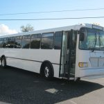 Freightliner 45 passenger charter shuttle coach bus for sale - Diesel 1